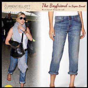 Current/Elliott Jeans - NWT Current/Elliot Boyfriend Jeans